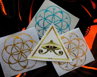 Sacred Holographic Decal Pack