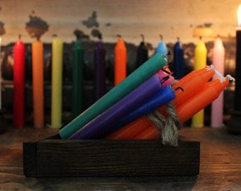 Individual Colored Chime Ritual Candles