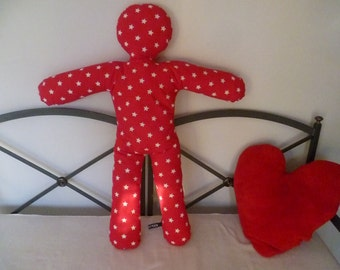 The friend-cushion-shaped snowman Little Valentine