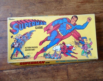 1973 Superman Board Game, Hasbro Inc