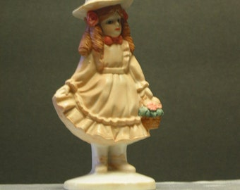 "Beautiful Vintage Porcelain Girl ""Pretty In Pink"" Named Emily"