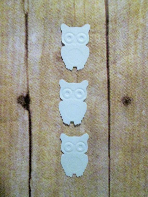 Basket Weaving Supplies Toronto : Die cut light blue owl confetti for birthday parties