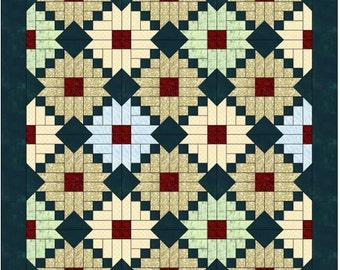 Daisy quilt | Etsy : shadowed daisy quilt pattern free - Adamdwight.com