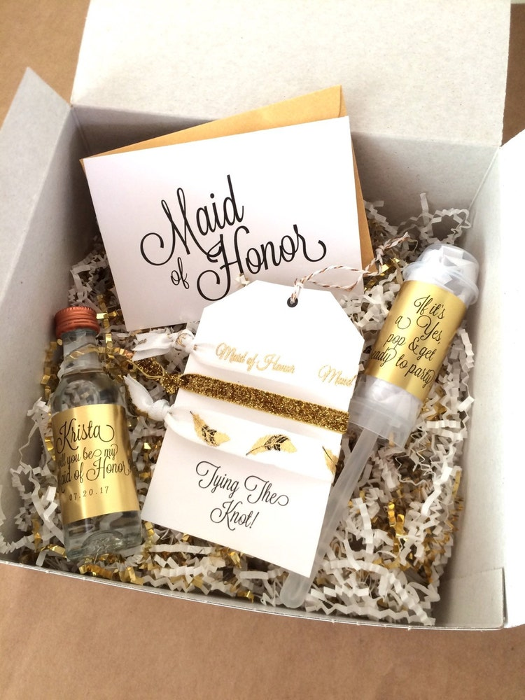 Thank your bridesmaids for all of their help with one of these unique presents. From personalized to just plain fun, your girls will go crazy for these bridesmaid gift ideas.