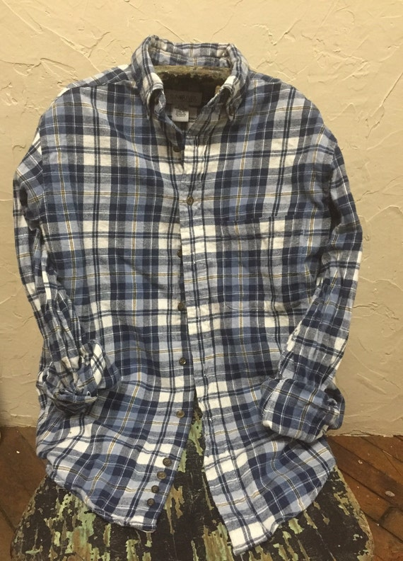 Flannel shirt vintage wash men 39 s woman 39 s unisex for How to wash flannel shirts