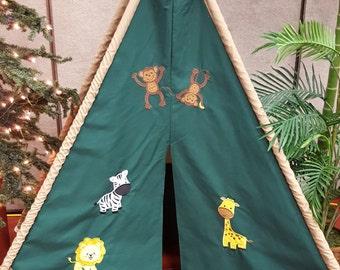 Jungle Play Tent