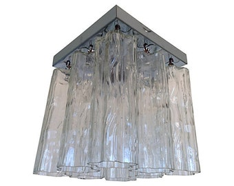 1960s Murano Glass Ceiling Light