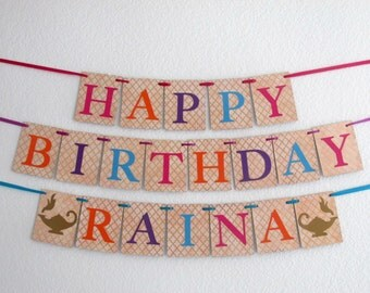 Genie Birthday Banner Moroccan Birthday Banner Genie Birthday Genie Party Moroccan Birthday Moroccan Party Moroccan Banner Genie Theme Party