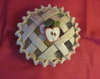 Lattice Apple Pie Potpourri Bowl