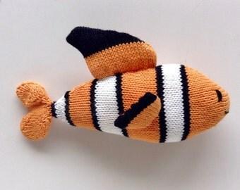 Clownfish, soft and very soft plush