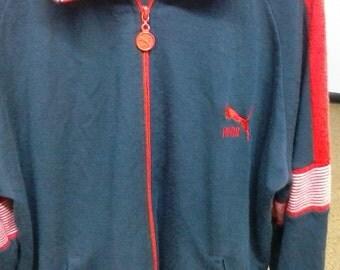 Retro Puma runner track suit