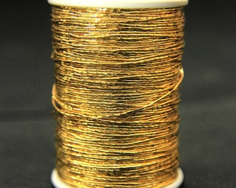 Japan Metallic Gold Colour Thread (125Mtr/Spool)