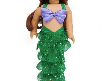 American Girl Mermaid outfit