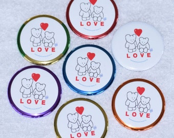 Bear Love Pin