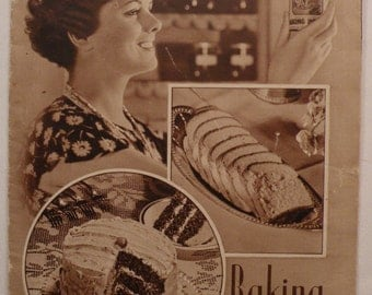 Clabber Girl Baking Book 1930's