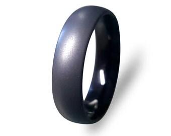 tungsten wedding ring tungsten carbide ring black tungsten ring with sand blasted finish - Tungsten Wedding Ring Sets