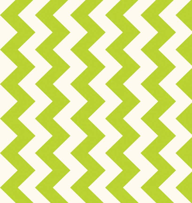 Lime Chevron Fabric, Riley Blake Le Creme C640-32 Medium Chevron ...
