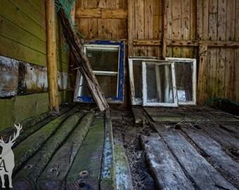 Broken Windows. Photography, Digital File.