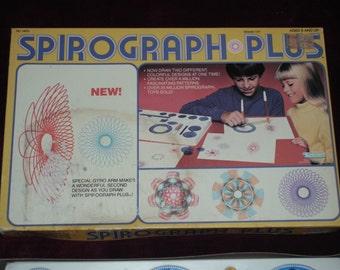 Vintage 1983 SPIROGRAPH PLUS Drawing Kit