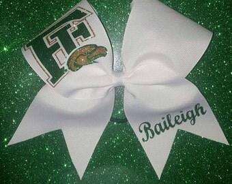 Team logo bow
