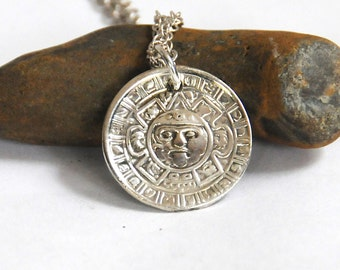 aztec necklace, mayan necklace,  mexican necklace