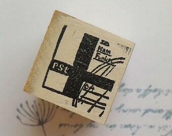 Postmark rubber stamp~1,Chamilgarden