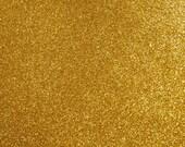 FINE glitter fabric sheet. Gold A4 sheet. JR09148