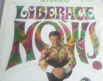 LIBERACE Now! Vinyl Record | Released in 1967 | DOT Record Sleeve