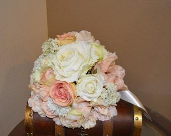 Bridal Bouquet, Brides Bouquet, Wedding Bouquet, Wedding Flowers, Wedding Decor, Brides Bouquets, Coral Peony Bouquet, Garden Bouquet