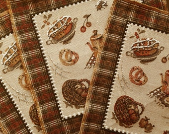 Tapestry Placemats Set of Five