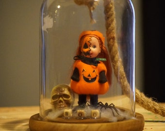 Trick or Treat - OOAK Halloween Doll Miniature