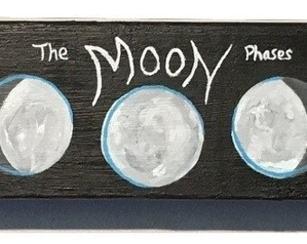 The Moon Phases Wall Hanging
