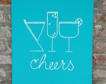 Cheers Wall Art