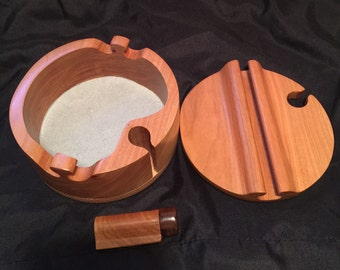 Handcrafted bandsaw jewelry/trinket/stash box