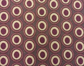 Art Gallery Fabrics Oval Elements Prune Brown