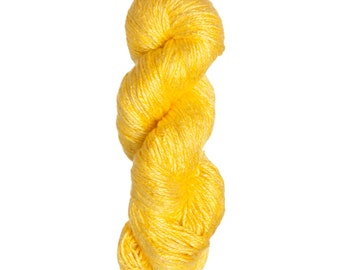 Milk-Bamboo Yarn - Bulky Weight - Daffodil