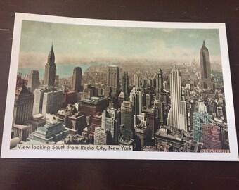 Vintage New York City Post Card