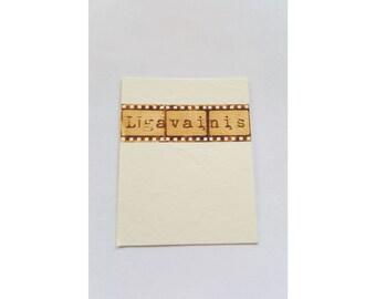 Wedding name cards, place cards, SET of 50 name cards, wedding place cards, name cards, movie themed wedding, cinema wedding table decor