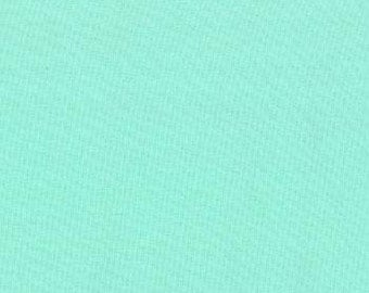 Bella Solids Aqua Fabric by Moda 100% cotton, quilt shop quality, sold by the half yard