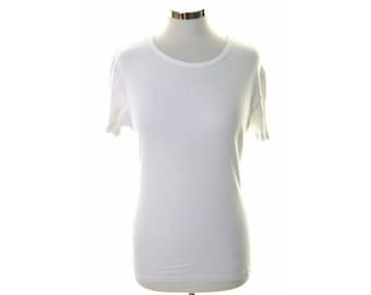 Puma Womens T-Shirt Medium White