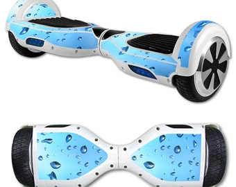 Skin Decal Wrap for Self Balancing Scooter Hoverboard unicycle Water Droplets
