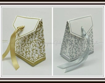 Gold or Silver Gift Box