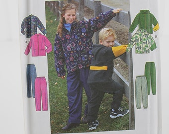 Childs Jacket and Pants Pattern, Simplicity 8342, Uncut Sewing Pattern