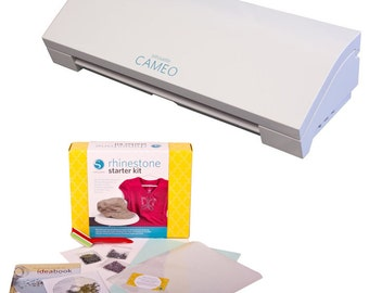 Silhouette CAMEO 3 Cutting Machine with Rhinestone Starter Kit - A 339.98 Value - NOW SHIPPING!!!