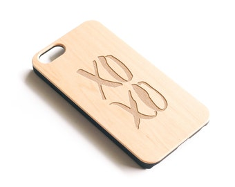iPhone 6S Case, Real Wood, iPhone 6 Plus, iPhone 6 Plus Cases, iPhone 6S Case, iPhone 6S, iPhone 6 Plus Case, XOXO, Maple Wood, Gift