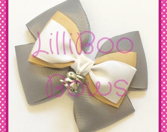 Handmade Thumper Inspired Hair Bow