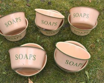Wholesale deal for 10 vintage style yellow soaps bowls