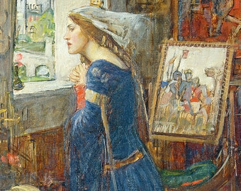 John William Waterhouse: Fair Rosamund. Fine Art Print/Poster. (003663)