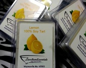 Lemon Soy Tart Melts, Wax Tarts,  Soy Melts Wax Tarts, Scented Soy Wax Melts, Soy Tarts, Soy Melts, Wax Tarts, Candle
