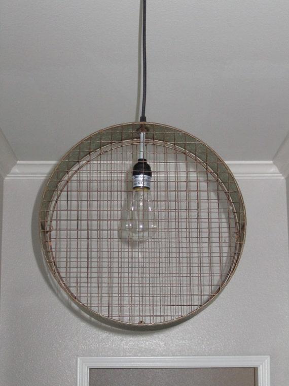 Wire Mesh Pendant Light Lighting Pendant Lighting Rustic